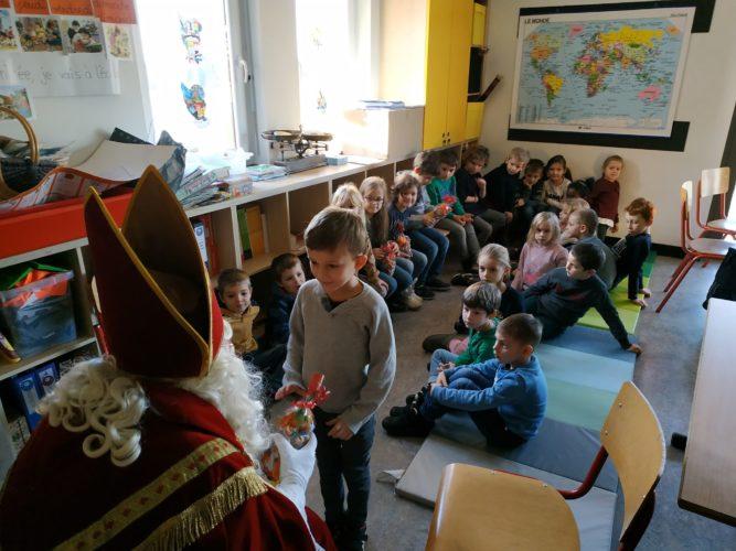 Saint Nicolas est passé à l'école...